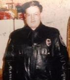 Laird Cole in Police Uniform
