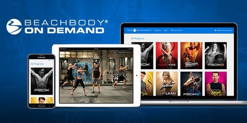 Beachbody On Demand All Access, online workout streaming