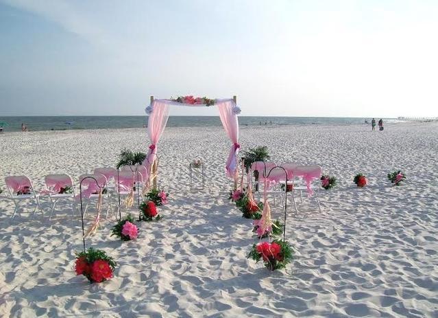 60 Non Traditional Wedding Vows: Orange Beach AL Beach Wedding Ceremony Only Services