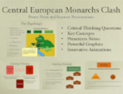 Central European Monarchs Clash PowerPoint