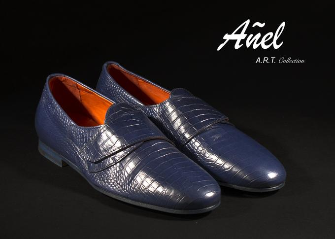 The Añel Racer Collection ART model is 100% Made in Italy with the finest materials.