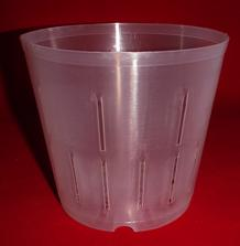 best clear plastic orchid pot 5 inch slots cone holes drainage ventilation large flexible