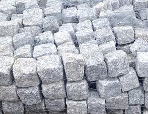 Cubes Cobblestone Gray