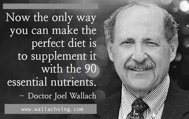 Dr. Joel Wallach Why the 90
