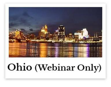 Ohio chiropractic ce online webinars continuing education for DC chiropractor chiro credits hours