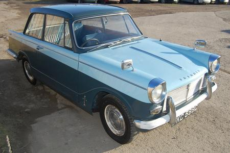 1965 TRIUMPH HERALD TAX & MOT EXEMPT