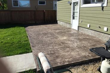 Winnipeg Concrete - Patios - Clean Cut Concrete