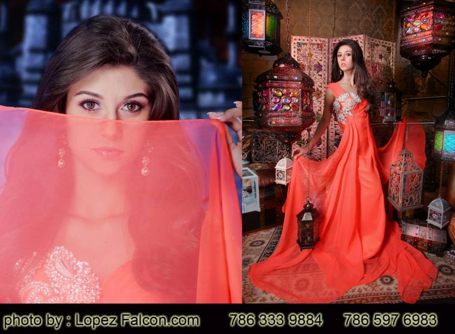 LA BELLA QUINCEANERA ELIZABETH ELIAS LOPEZ FALCON ARABIAN QUINCES PHOTOGRAPHY VIDEO DRESSES MIAMI