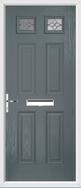 4 Panel 2 Square Door karri