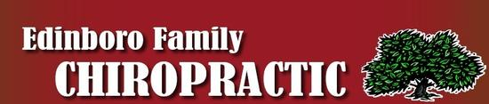 Edinboro Family Chiropractic Header
