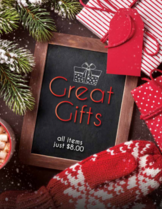 Great Gifts Spring Fundraiser Brochure