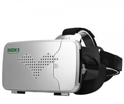 "Roll over image to zoom in Share This: RITECH Riem III High-Definition Virtual Reality 3D Glasses for 3.5-6"" Smartphone Silver"