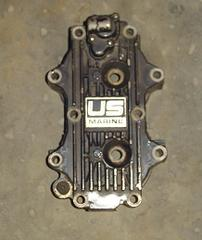 Used cylinder head for a 1988 50 hp Force outboard motor F658518