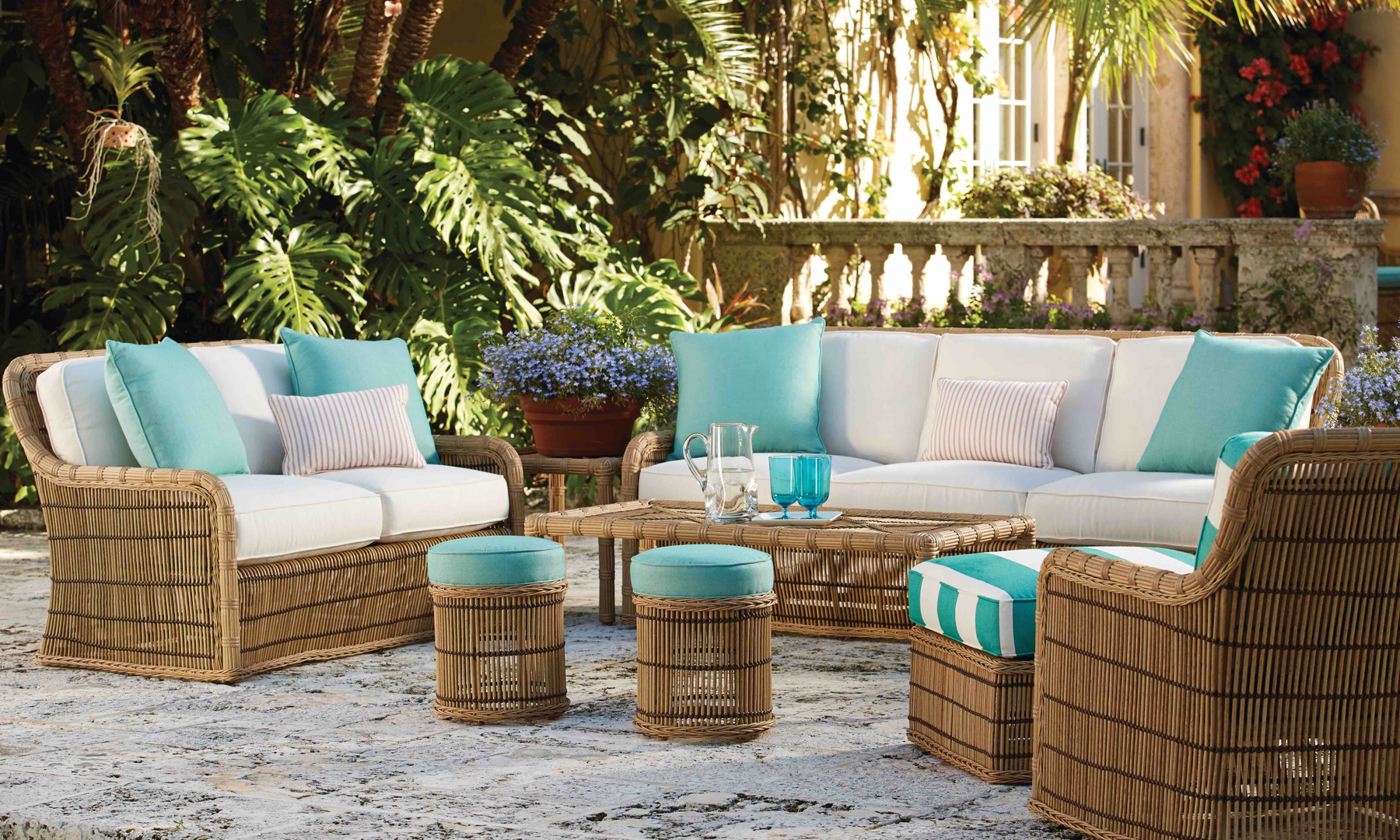 Kospia Farms Lane Venture Heritage Home Group Outdoor Furniture