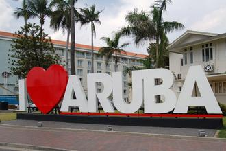 Ann and Family Enjoy Aruba