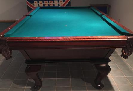 PreOwned Pool Tables - Italian pool table