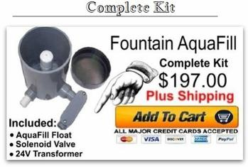 Fountain AquaFill Complete Kit