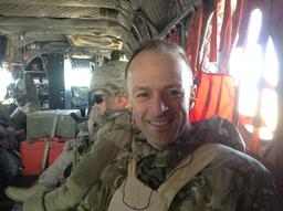 Craig Lawrence in Afghanistan