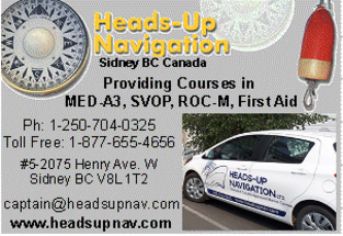 Heads Up Navigation Website