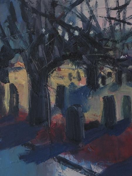 Graves at Pitsmoor by Brian Ballard RUA