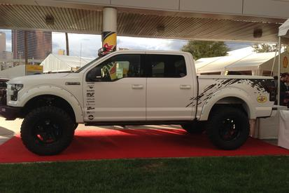 2015 Ford F-150 4x4 Eco boost Chin Edition