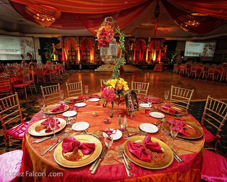 ARABIAN qUINCEANERA CENTERPIECES MIAMI DECORATION QUINCES PARTIES