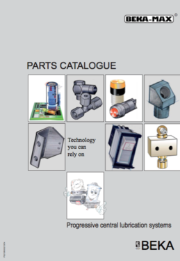 LEK Lubrication Engineering Knowledge Parts Catalogue
