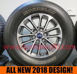 "Ford FX4 18"" 2018 Wheels and Tires New Takeoff"