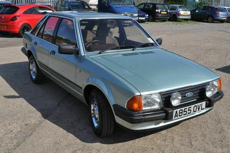 1983 FORD ESCORT GHIA MK3 LONG MOT LOW MILES STUNNING CONDITION
