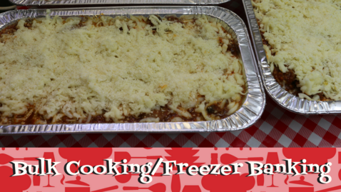 Bulk Cooking and Freezer Banking Recipes, Noreen's Kitchen