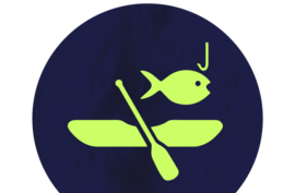 Mines and Meadows Canoeing Icon