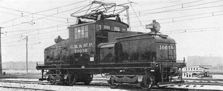 Milwaukee Road ES-2 No. 10050, circa 1924.
