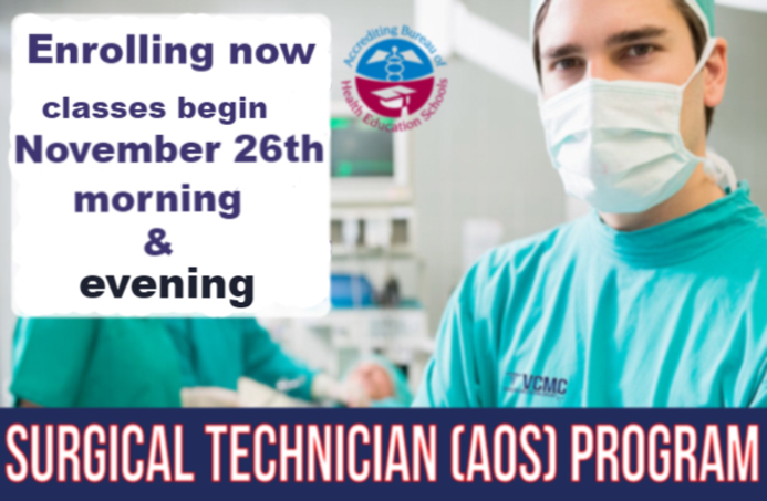 Surgical Technician program in the san fernando valley
