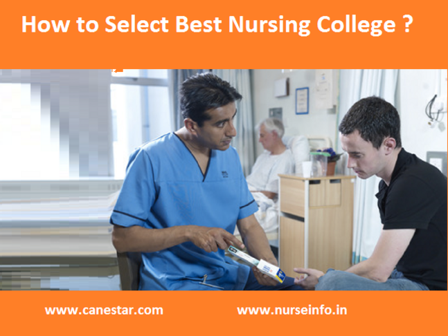 select best nursing college india