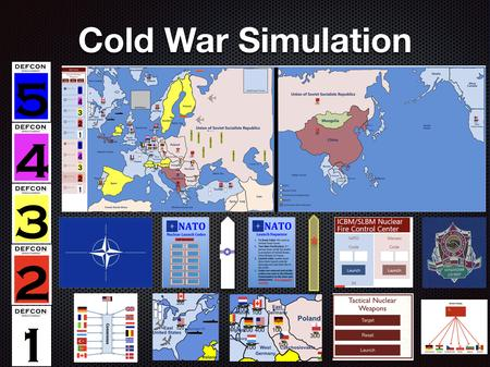 Cold War Simulation Lesson Plan