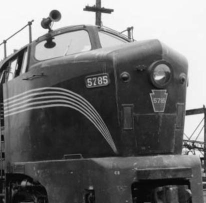 A Baldwin shark of the PRR.