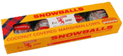 Tunnock's Coconut Covered Snowballs and Teacakes