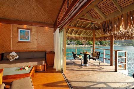 INTERCONTINENTAL MOOREA RESORT & SPA: Overwater bungalow