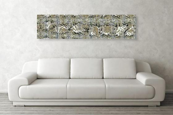 Natural Paths 60 x 14 Metal Print