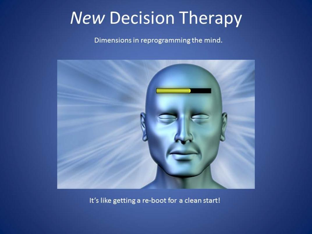 New Decision Therapy: The Official Site (emotional healing seminars)
