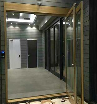 emergency swing out automatic sliding door