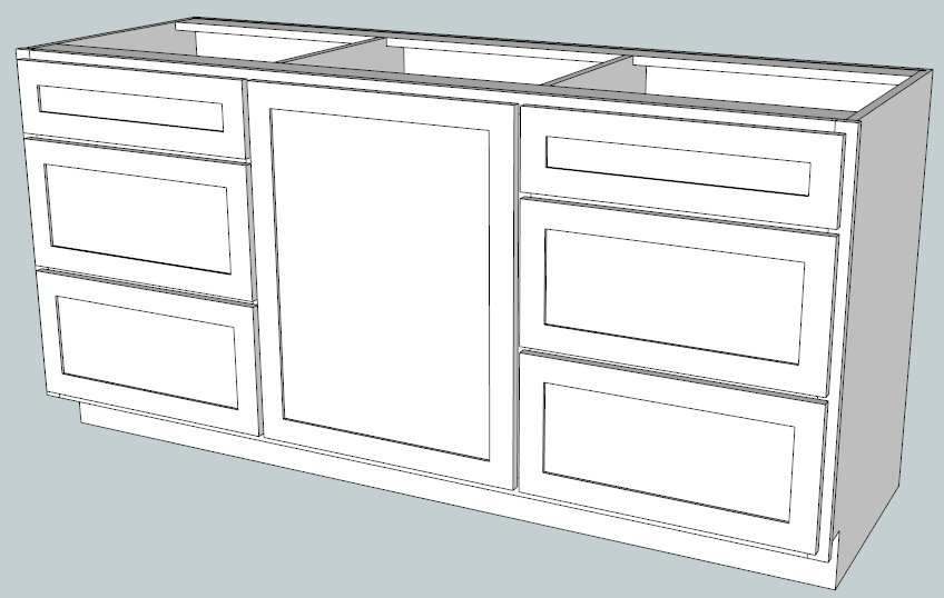 Designing cabinets with google sketchup Kitchen design software google sketchup