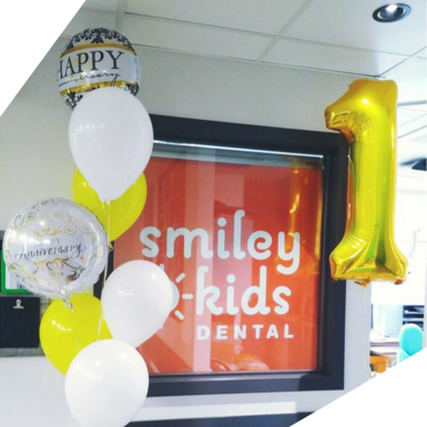 The office of our children's dentist in Burnaby