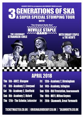 3 Generations of Ska Tour & Other Dates