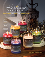 Heritage Candles Jar Candle Collection Fundraiser