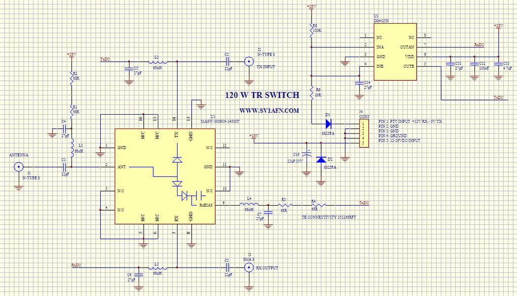 masw-000936 datasheet in  pdf � high power pin tr