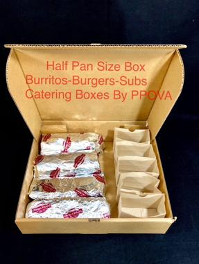 Custom Printed Half Pan Catering boxes