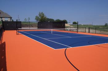 Tennis Court Construction in Dallas - Texas Turf and Pavers
