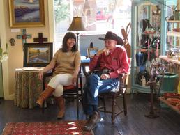 Lindy and Jim Severns are here to help you acquire fine art