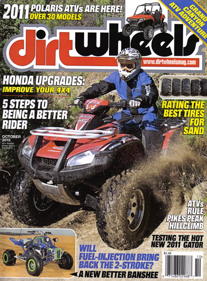 Mines and Meadows Featured in Dirt Wheel Magazine